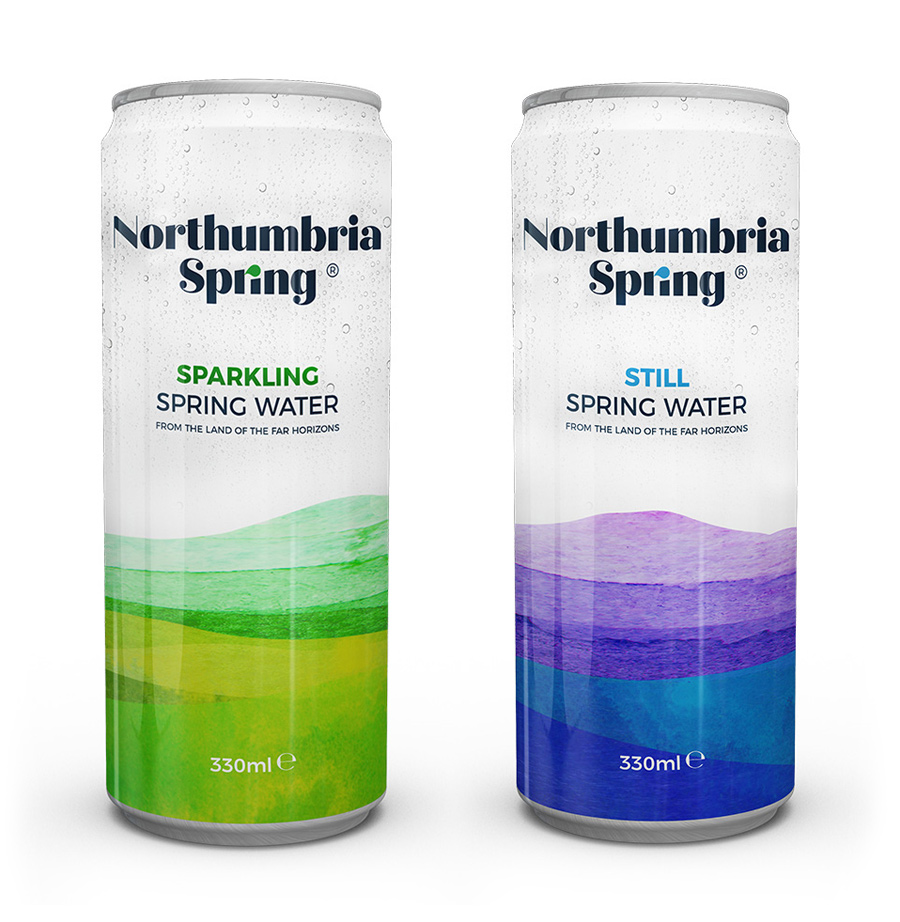Northumbria Spring Cans
